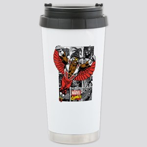 Comic Falcon Stainless Steel Travel Mug