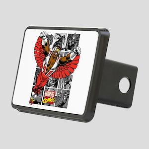 Comic Falcon Rectangular Hitch Cover
