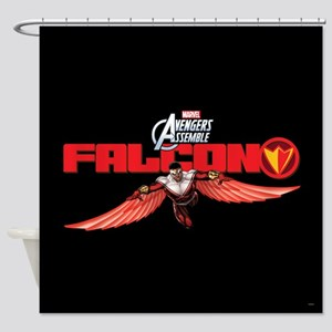 Falcon Wings Shower Curtain