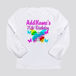 75TH BUTTERFLY Long Sleeve Infant T-Shirt