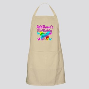 75TH BUTTERFLY Apron