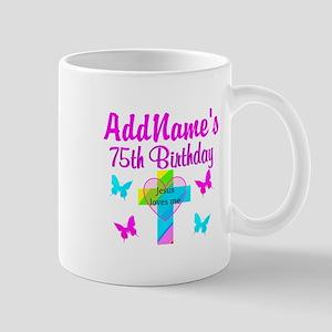 75TH JESUS LOVES Mug