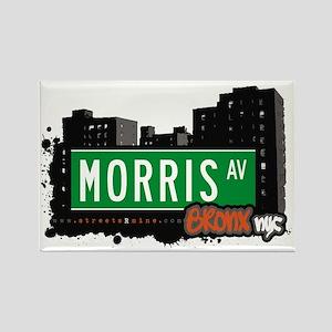 Morris Av, Bronx, NYC Rectangle Magnet