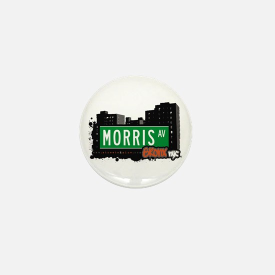 Morris Av, Bronx, NYC Mini Button