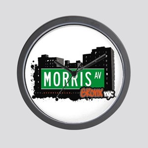 Morris Av, Bronx, NYC Wall Clock