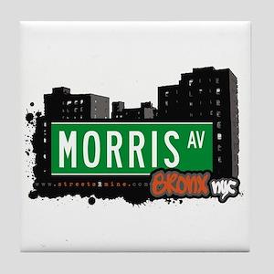 Morris Av, Bronx, NYC Tile Coaster