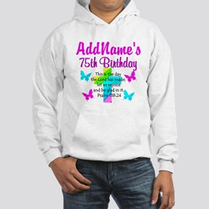 75TH CHRISTIAN Hooded Sweatshirt