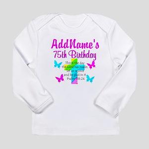 75TH CHRISTIAN Long Sleeve Infant T-Shirt