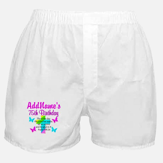 75TH CHRISTIAN Boxer Shorts