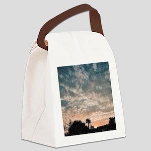 fractal evening Canvas Lunch Bag