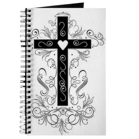 Flourish Cross Journal
