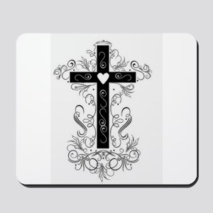 Flourish Cross Mousepad