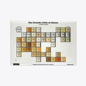 Periodic table gifts cafepress 50 cheese periodic table rectangle magnet urtaz Choice Image