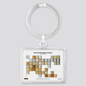 50 Cheese Periodic Table Landscape Keychain