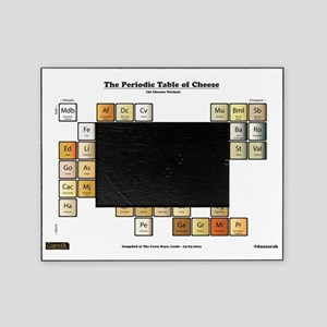 Periodic table picture frames cafepress 50 cheese periodic table picture frame urtaz Gallery