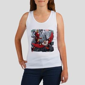 Falcon and Iron Man Women's Tank Top