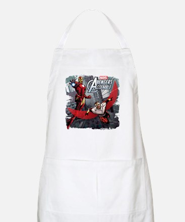 Falcon and Iron Man Apron