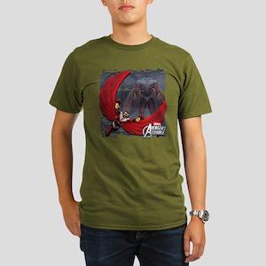 Soaring Falcon Organic Men's T-Shirt (dark)