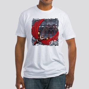 Soaring Falcon Fitted T-Shirt