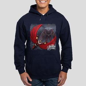 Soaring Falcon Hoodie (dark)