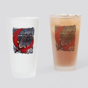 Soaring Falcon Drinking Glass
