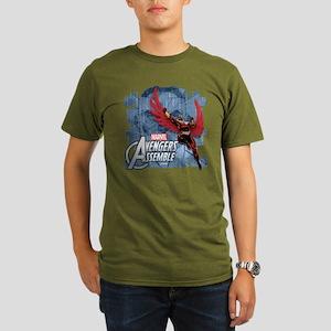 Falcon 2 Organic Men's T-Shirt (dark)