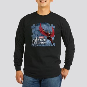Falcon 2 Long Sleeve Dark T-Shirt