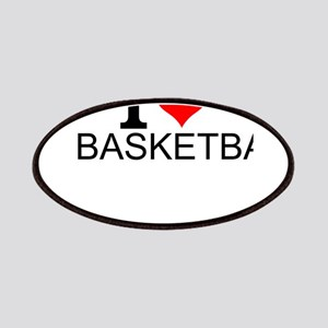 I Love Basketball Patch
