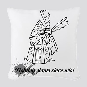 Don Quixote Woven Throw Pillow