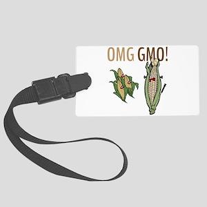 OMG GMO! Luggage Tag