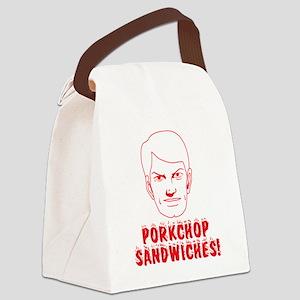 2-Porkchop_Sandwiches-3.5 Canvas Lunch Bag