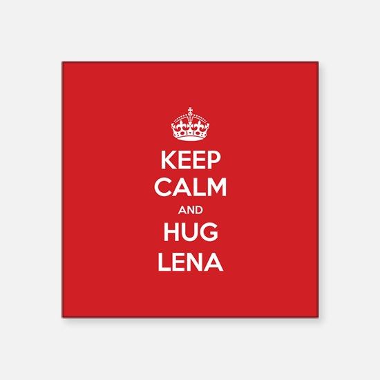 Hug Lena Sticker