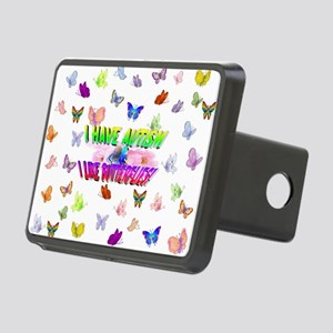 I have autism like butterflies Hitch Cover