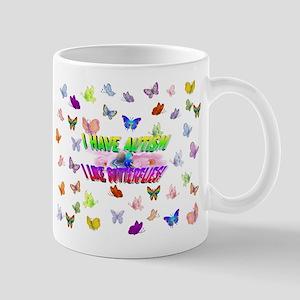 I have autism like butterflies Mugs