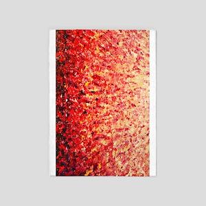 HypnoticSunrise rug 5'x7'Area Rug