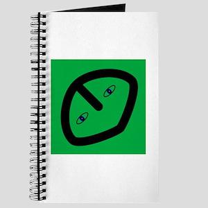 Alien on Green Journal