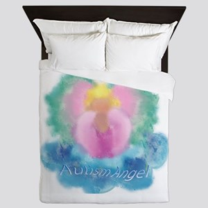 Autism Angel Queen Duvet