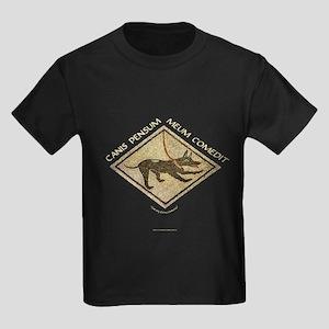 Dog Ate My Homework Kids Dark T-Shirt