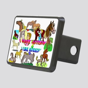 i have autism n like horses2300 Hitch Cover