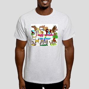 i have autism n like horses2300 T-Shirt