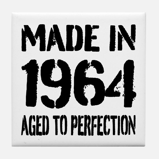 1964 Aged to perfection Tile Coaster