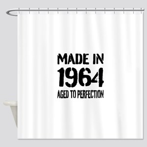 1964 Aged to perfection Shower Curtain