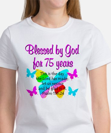 75 YR OLD ANGEL Women's T-Shirt