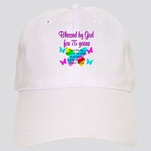 75 YR OLD ANGEL Cap