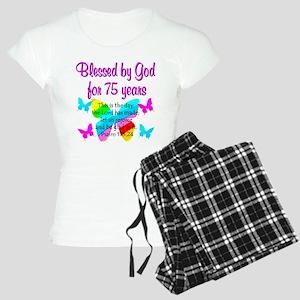 75 YR OLD ANGEL Women's Light Pajamas