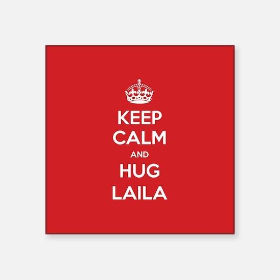 Hug Laila Sticker