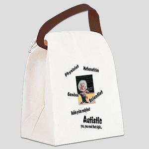 2-al autism Canvas Lunch Bag