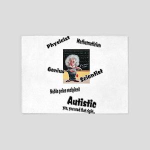 2-al autism 5'x7'Area Rug