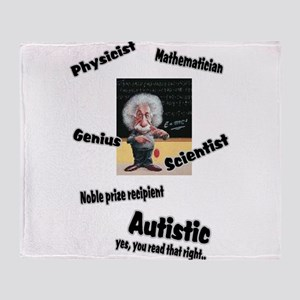 2-al autism Throw Blanket