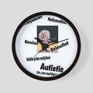 2-al autism Wall Clock